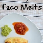 Taco Tuesday: Pillsbury Grands! Taco Melts Recipe