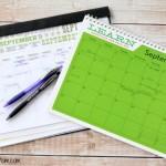 My Family's Three Calendar Organization System