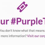 IZEA #PurpleTicket