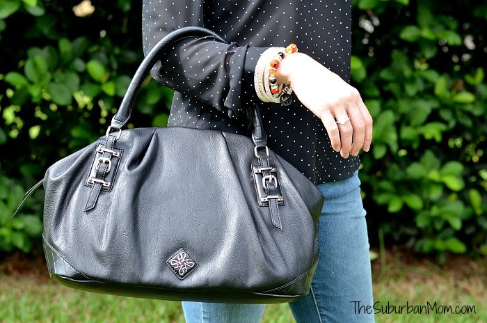 Vera Wang Black Purse Kohls