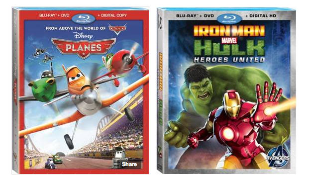 Disney Planes Marvel Iron Man Hulk