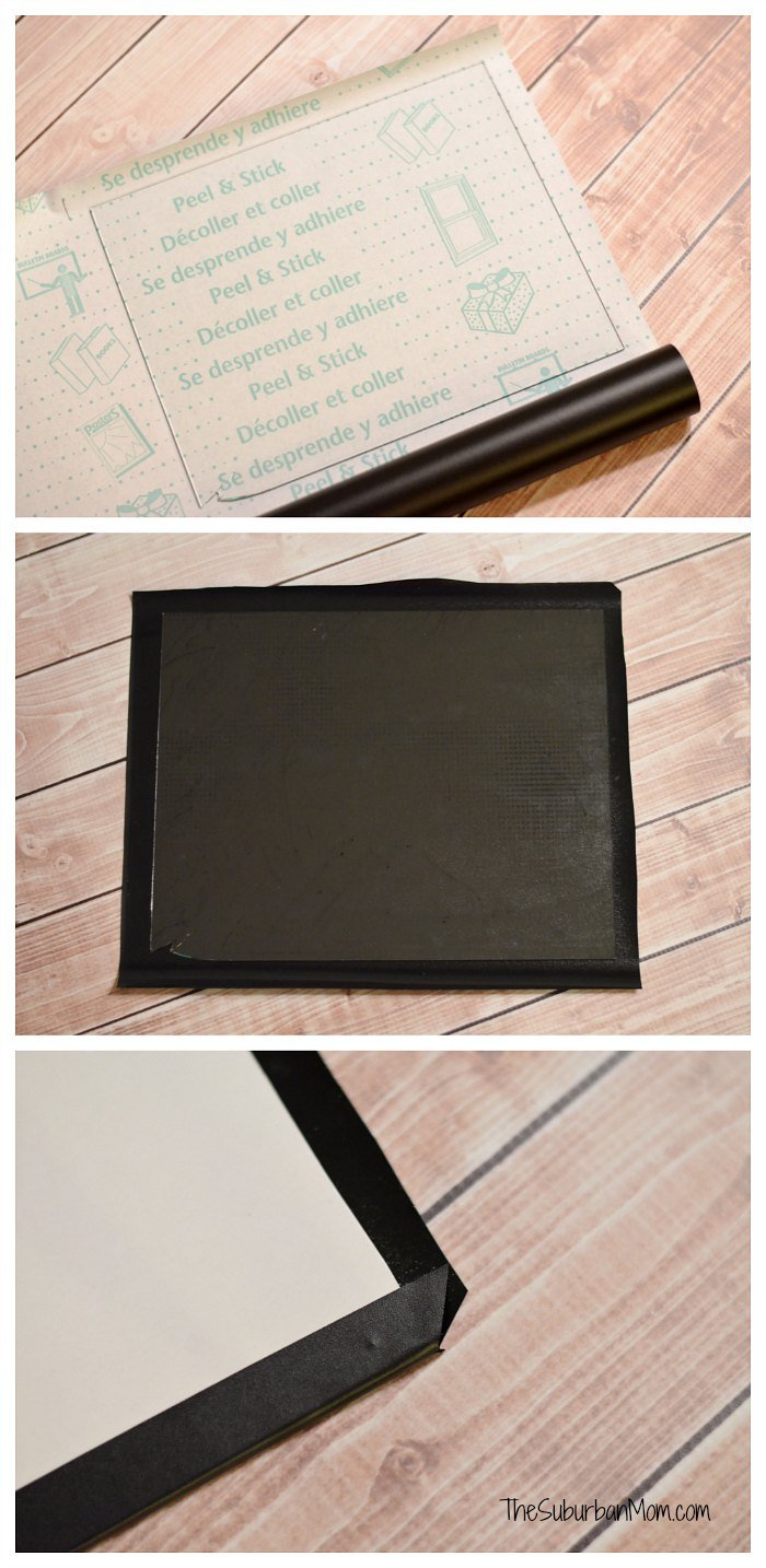 Duck Deco Laminate Chalkboard Project