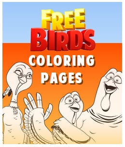 free birds coloring pages movie - photo#7