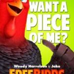 Free Birds Poster Woody Harrelson
