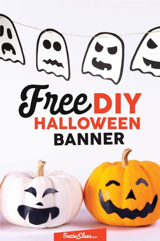 Free Halloween Ghost Banner