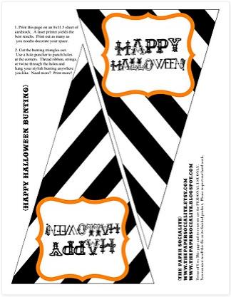 Halloween Banner Free Printable