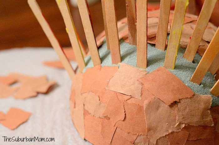 Popsicle Stick Turkey