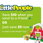 Fisher-Price Printable Coupons – Disney Little People, Imaginext and More