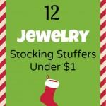 12 Fashion Jewelry Stocking Stuffers
