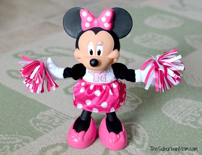 Hip Horay For Cheerin Minnie