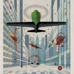 Disney Planes Vintage Poster