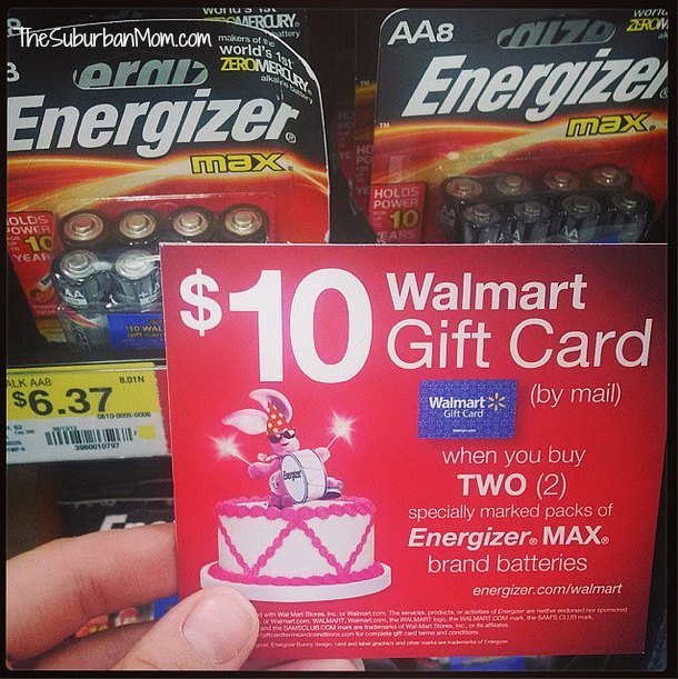 Energizer Max Coupon Deal