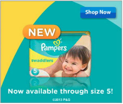 Pampers Swaddlers size 4 5