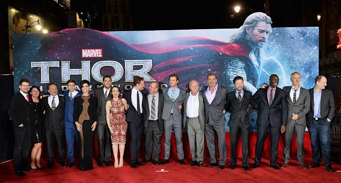 Thor Cast Hollywood Premiere