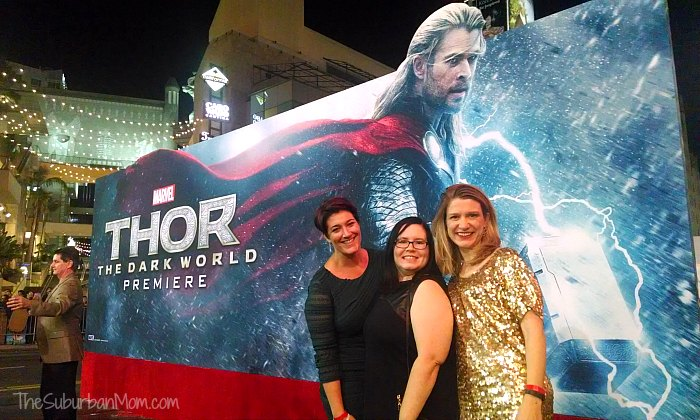 Thor Dark World Premiere Bloggers