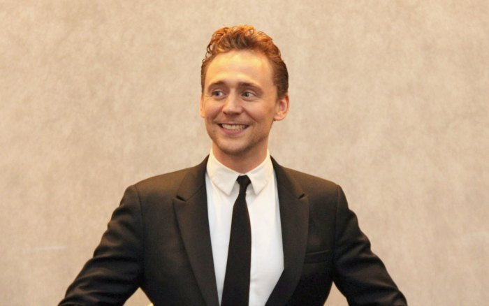 Tom Hiddleston Loki Smile