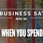 American Express Small Business Saturday – Get $10 When You Spend $10