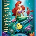 The Little Mermaid Diamond Edition Blu-ray + DVD $15