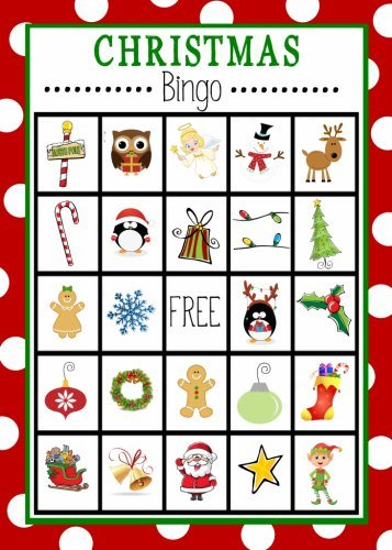 Christmas Bingo Free Printable