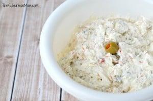 Cream Cheese Olive Dip