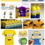 Despicable Me Minion Crafts & Party Ideas