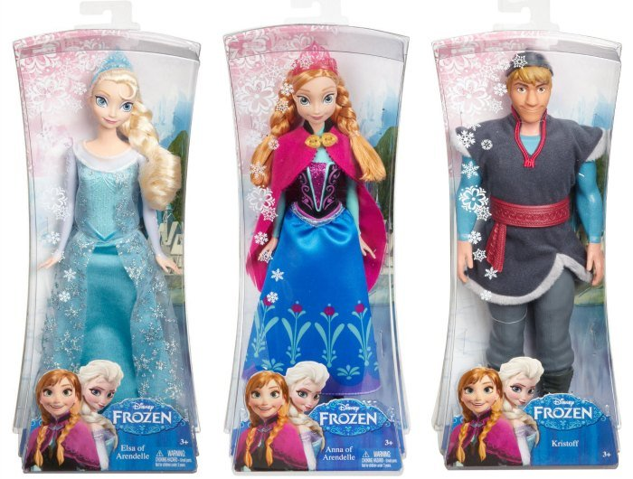 Disney Frozen Fashion Dolls Anna Elsa Kristoff