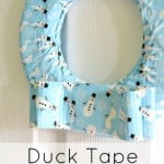 Duck Tape Wreath Turorial