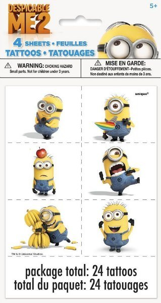 Minion Temporary Tattoos