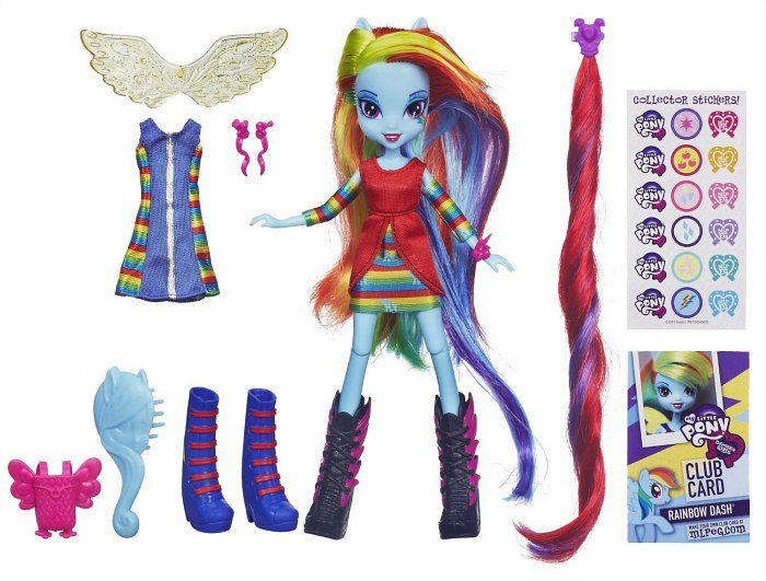 My Little Pony Equestria Girl Rainbow Dash