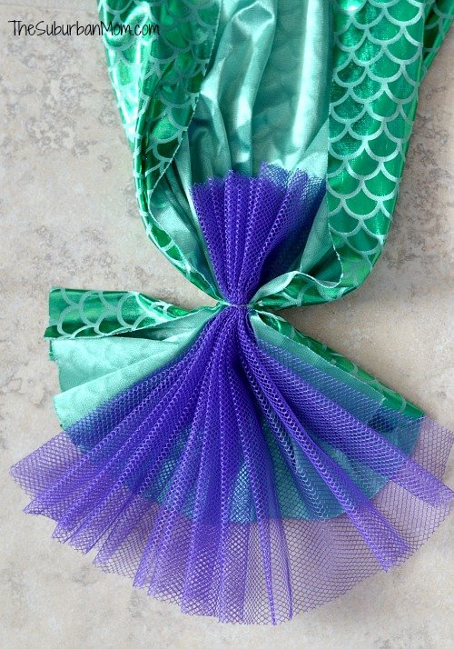 DIY Mermaid Tail Back