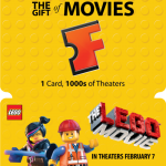 The LEGO Movie Fandango Gift Cards ~ $100 Giveaway