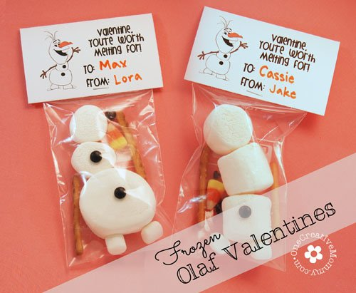 Frozen Olaf Valentines