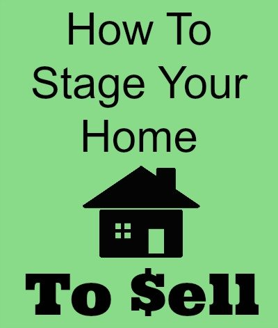 How to stage your home to sell thesuburbanmom for How to stage a house to sell