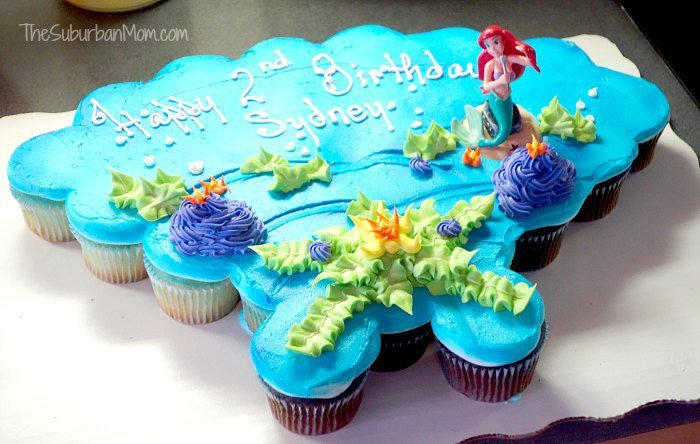 The Little Mermaid Ariel Birthday Party Ideas Food Crafts amp More TheSuburbanMom