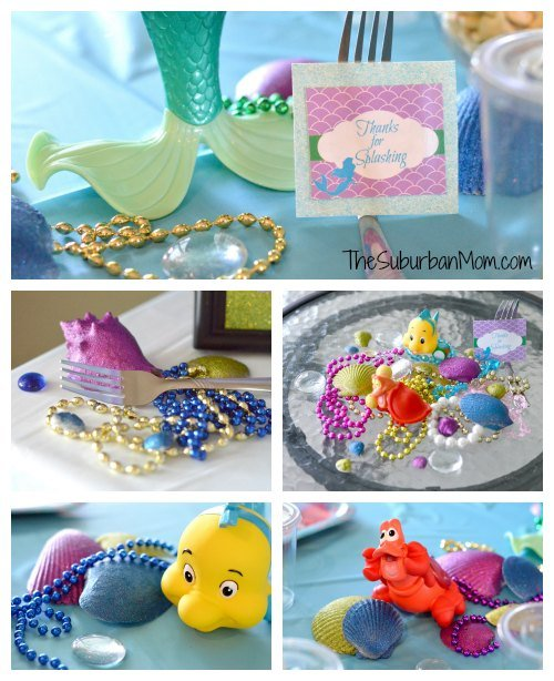 Gifts little mermaid images for Ariel birthday party decoration ideas