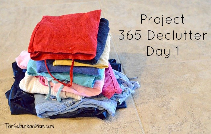 Project 365 Declutter Day 1