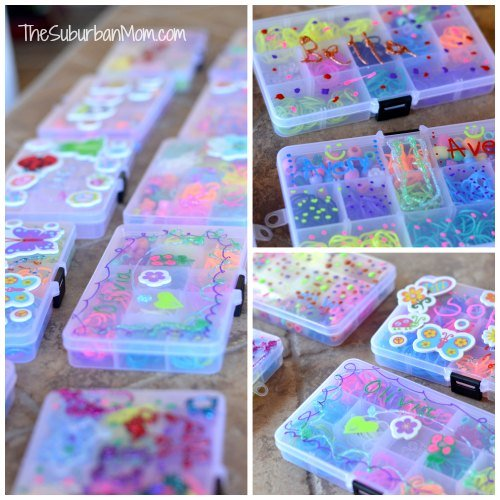 Rainbow Loom Storage Boxes