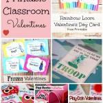 14 Free Printable Kids Classroom Valentines