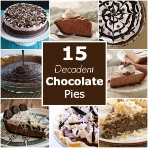 15 Decadent Chocolate Pies