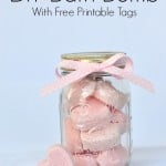 DIY Bath Bomb Free Printable Tag