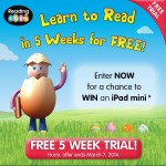 Reading Eggs: Online Skills Lessons Ages 3-13 Review ~ iPad Mini Giveaway