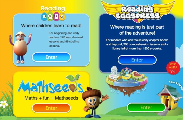 Reading Eggs Mathseeds Eggspress