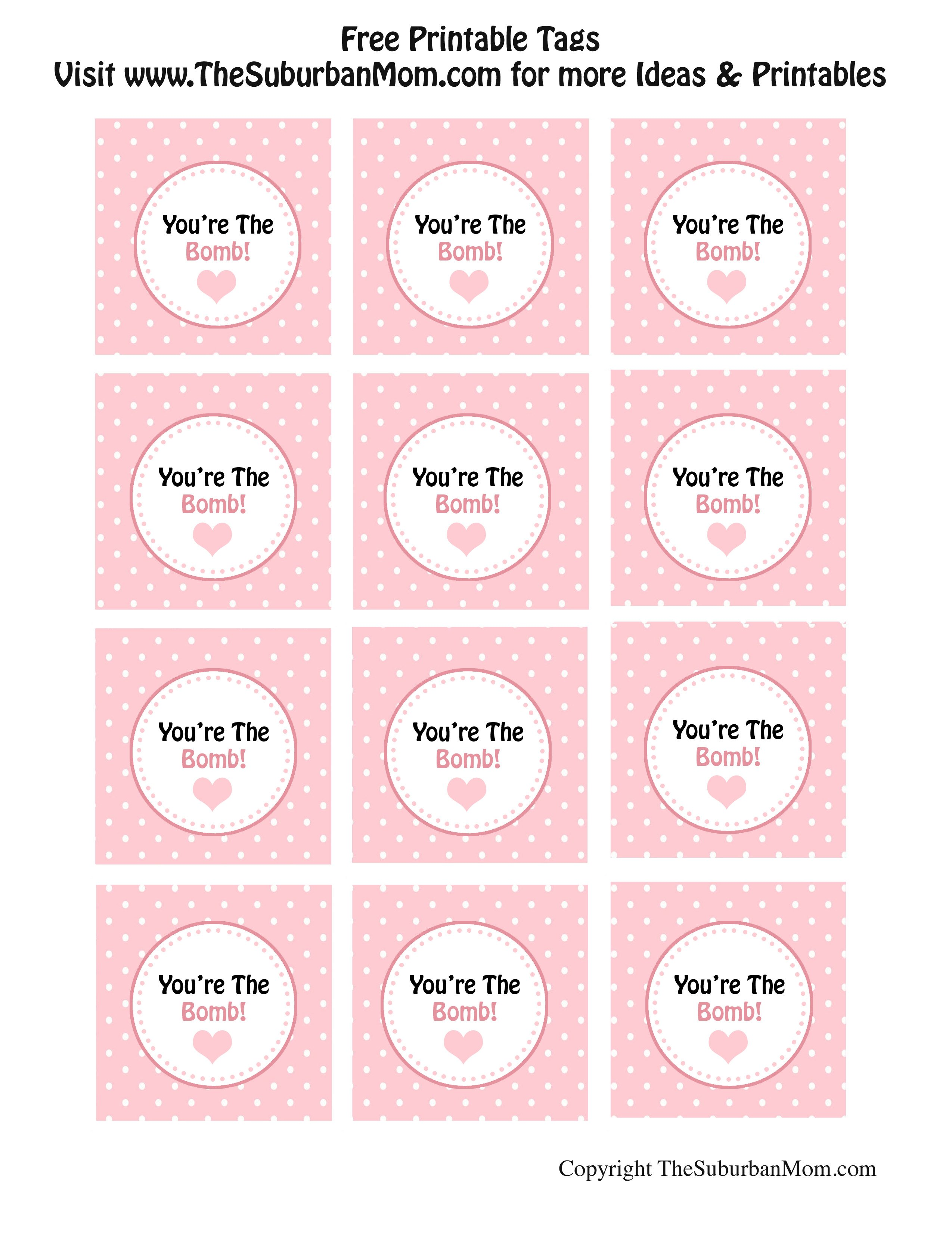 to print your tags click the link above and print on cardstock paper the tags can be punched out with either a twoinch circle punch or a twoinch scallop