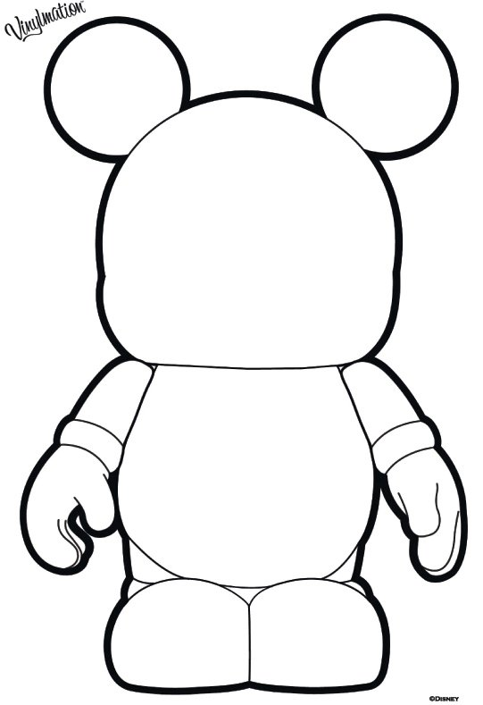 blank coloring pages disney - photo#10