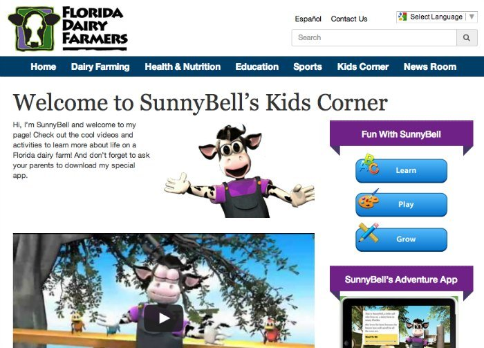 Florida Dairy Farmers SunnyBell