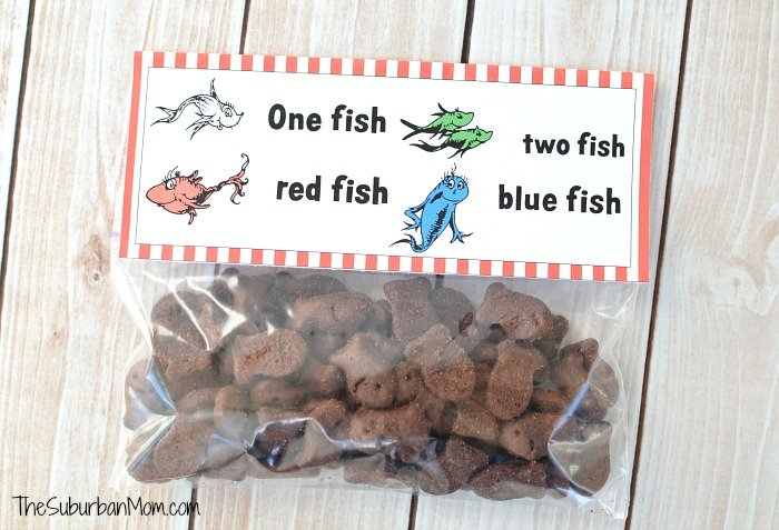 Free Printable Dr. Seuss One Fish Two Fish