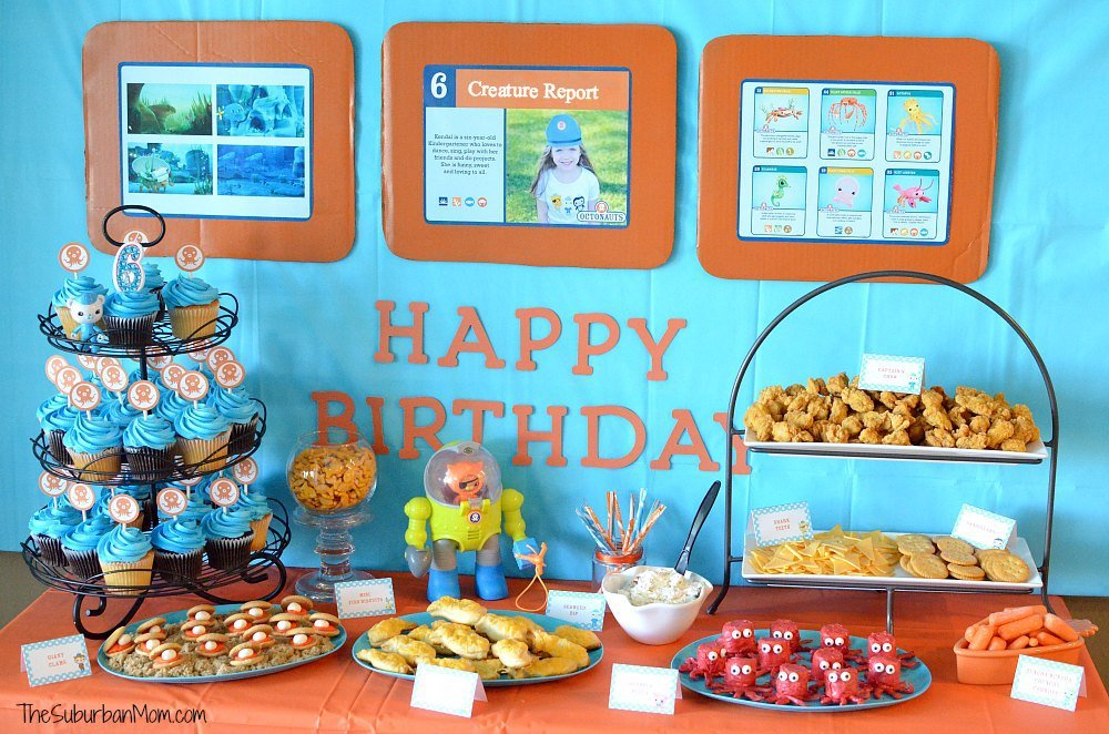 Octonauts Birthday Party Decorations, Ideas, DIY Party Favors & More ...