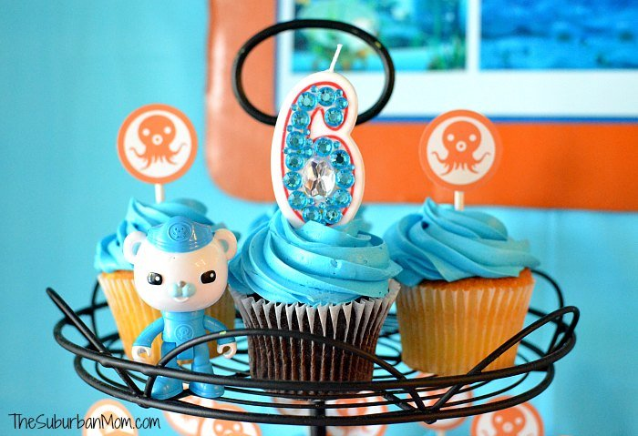 Octonauts Bling Candle DIY