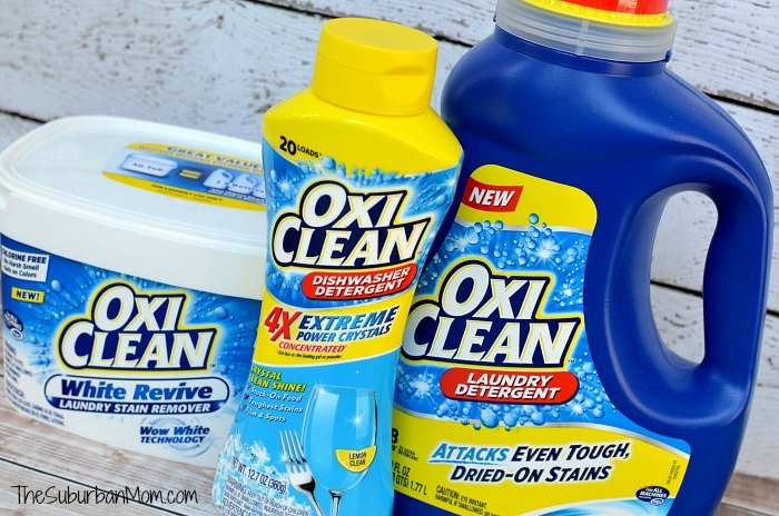 OxiClean Laundry Dishwaser Detergent