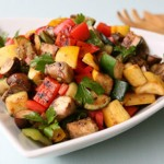 Pan Roasted Vegetables Recipe